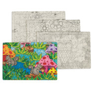 Puzzles to Color (pack of 12)
