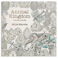 Animal Kingdom Adult Coloring Book