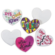 Color-Me™ Heart Pin (makes 24)