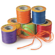 Raffia Ribbon Assortment (pack of 6)