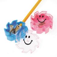 Smile Face Pencil Sharpeners (pack of 12)
