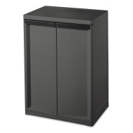 2 Shelf Storage Cabinet