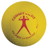 Commit To Be Fit Playground Ball