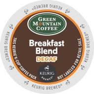 Green Mountain Coffee® Breakfast Blend Decaf K-Cups (pack of 24)
