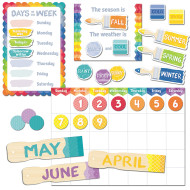 Painted Palette Calendar Bulletin Board Set (set of 67)