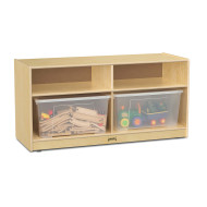 TODDLER JUMBO TOTE STORAGE CLEAR TOTES