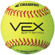 CHAMPRO VEX 11IN PRACTICE SOFTBALL PK12