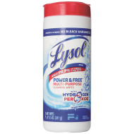 Lysol® Power & Free Multi-Purpose Wipes with Hydrogen Peroxide