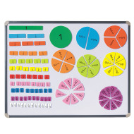 Magnetic Fraction Tiles (set of 106)