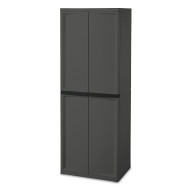 4 Shelf Storage Cabinet