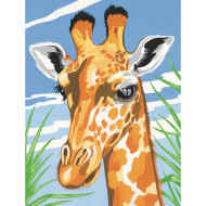 GIRAFFE PAINT BY NUMBER