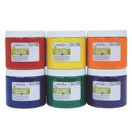 Handy Art® Washable Finger Paint, Primary Colors (set of 6)