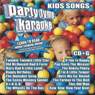 Party Tyme Karaoke CD+G Kids