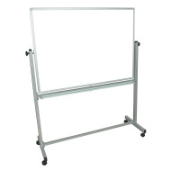 "Double-Sided Magnetic Whiteboard 48"" x 36"""