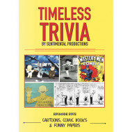 Timeless Trivia DVD – Cartoons, Comic Books & Funny Papers