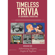 Timeless Trivia DVD – Advertising Slogans, Jingles & Taglines
