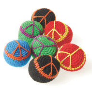 Peace Sign Kick Ball Sack (pack of 12)