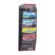 Onyx 5-Pocket Magazine Rack