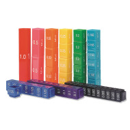 Fraction Tower® Equivalency Cubes (set of 51)