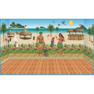 Luau Insta-Theme Decorating Kit