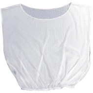 White Mesh Pinnies (pack of 6)