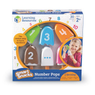 Smart Snacks Number Pops™ (set of 20)