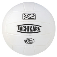 Tachikara® SofTec® VX2 Volleyball (White)