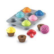Smart Snacks® Shape Sorting Cupcakes (set of 9)