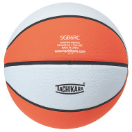 Tachikara Rubber Basketball, Orange/White