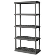 Sterilite® Durable 5-Shelf Shelving Unit