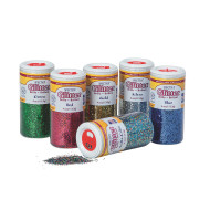 SPECTRA GLITTER ASSORTMENT 4OZ SET/6