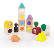 SENSORY STACKING BLOCKS