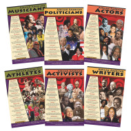 African American Leaders Poster Set (set of 6)