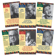 African American Heroes Poster Set (set of 6)