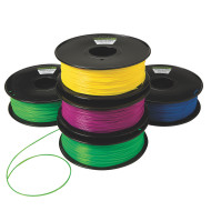 PLA Filament for 3D Printing, 5 Pack of Brights (pack of 5)