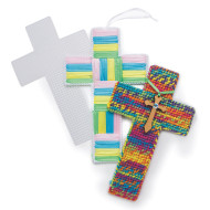 "Plastic Canvas Cross, 5"" x 8"" (pack of 6)"