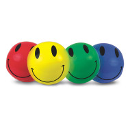"Smile Beach Balls, 16"" (pack of 4)"