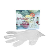 Disposable Plastic Gloves  (box of 100)