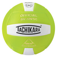 Tachikara® SV5WS Volleyball, Lime/White