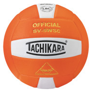Tachikara® SV5WS Volleyball, Orange/White