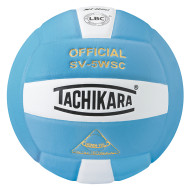 Tachikara® SV5WS Volleyball, Powder Blue/White