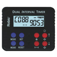 Robic® M613 Dual Contdown And Interval Timer