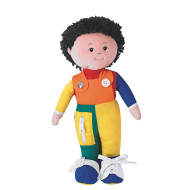 Learn To Dress Hispanic Boy Doll