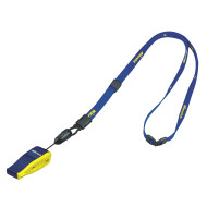 Mikasa® FIVB Whistle & Lanyard,Navy/Yellow