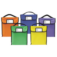 "Pack 'N Read Book Bags, 10"" x 12"" (set of 5)"