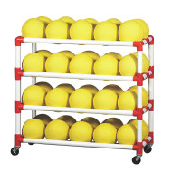 Duracart 4-Shelf Ball Wall