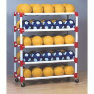 Duracart 5-Shelf Ball Wall