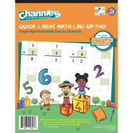 Quick & Neat Math Pad, Grades Pre-K – 1 (pack of 10)