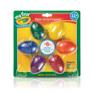 Crayola® Palm-Grip Crayons (set of 6)