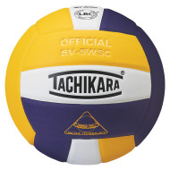 Tachikara® SV5WS Volleyball, Gold/White/Purple